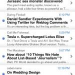 Byline iPhone RSS reader