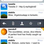 Tweetie iPhone app